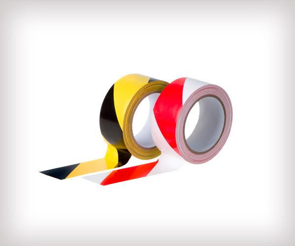 Rollos de cintas adhesivas para mantener la distancia seguridad